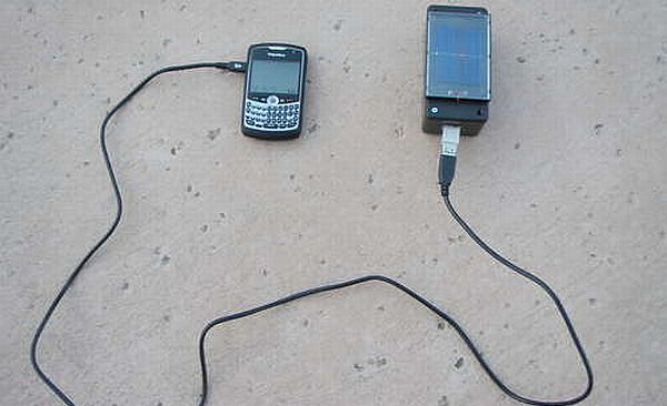 How to make a solar powered charger