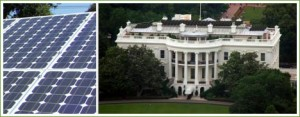 The White House's new photovoltaic system is expected to generate 19,700 kWh a year