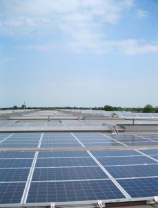 The largest rooftop system in Bucharest will stand on top a a logistics centre