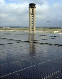 The biigest Airport with a PV system to open this month