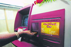 ATMs in rural India to work on green energy