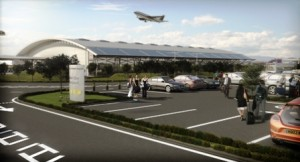London Southern Airport Solar Panels