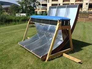 solar-powerd oven