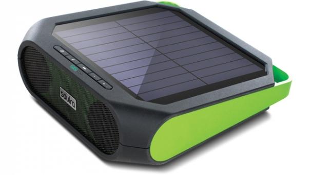 solar boombox