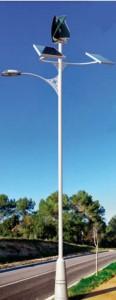solar and wind public light