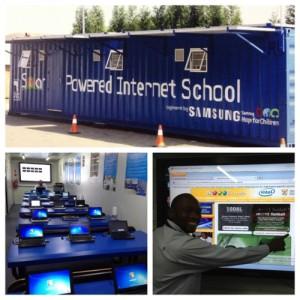 Solar Powered Internet School
