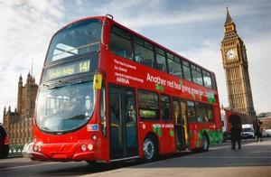 hybrid double decker bus
