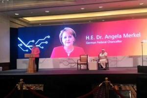 Merkel in India