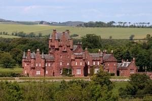 solar-powered castle