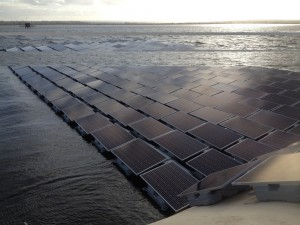 floating solar plant London