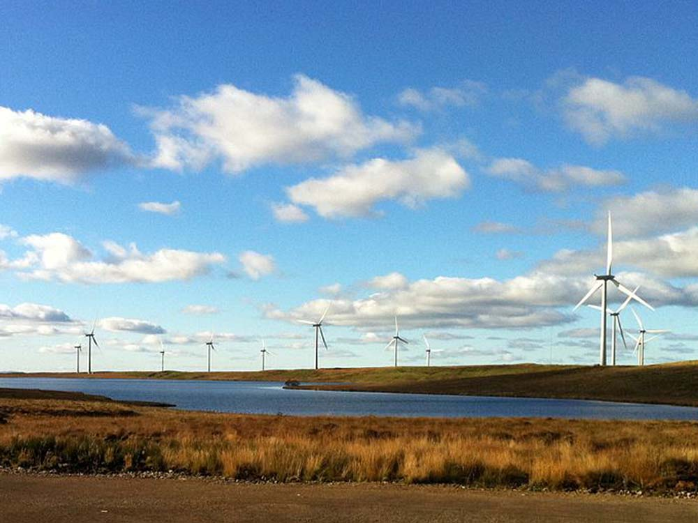 Scotland Generated More Than Half Its Electricity From