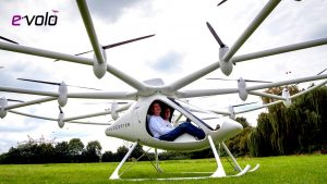 electric helicopter