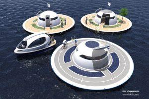 Jet Capsule UFO home