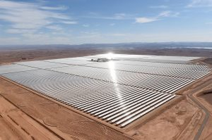 massive solar plant