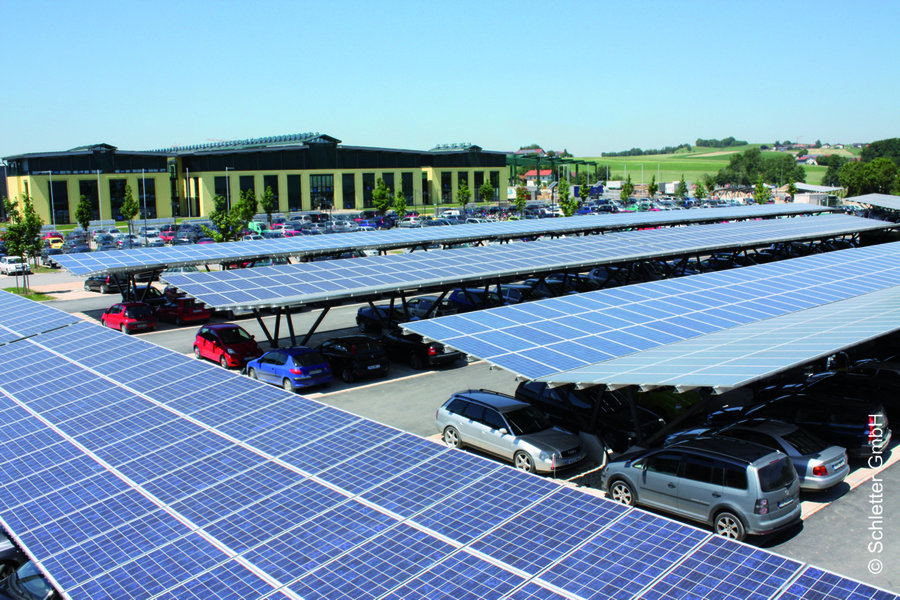 Solarcentury Will Construct The Biggest Solar Carport In